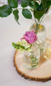 flowers on centerpiece- Emma Males Photography