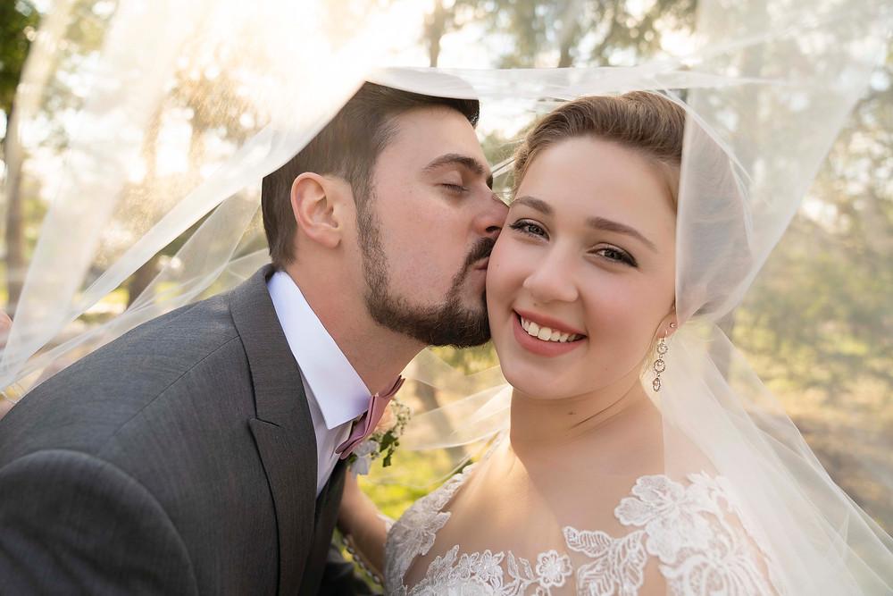 Greenwood Indiana wedding couple