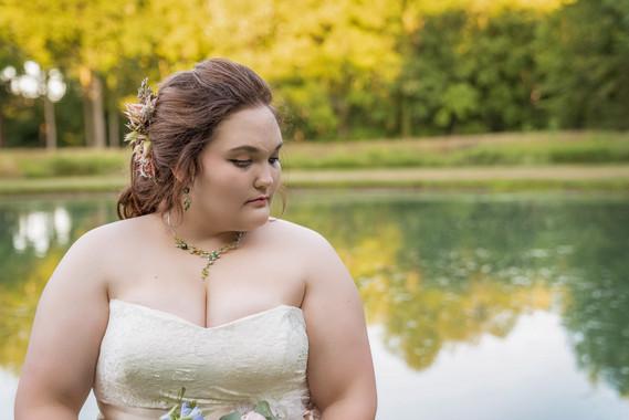 Indianapolis Wedding Photographer - bridal portrait