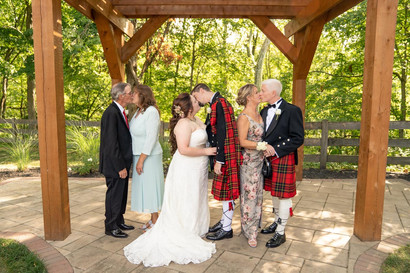 Indianapolis Wedding Photographer - family portrait at wedding