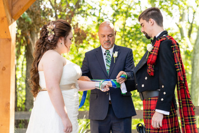 Indianapolis Wedding Photographer - bride and groom at ceremony