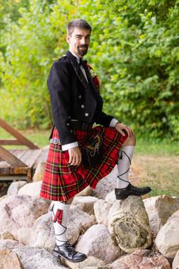 Indianapolis Wedding Photographer - groom portrait