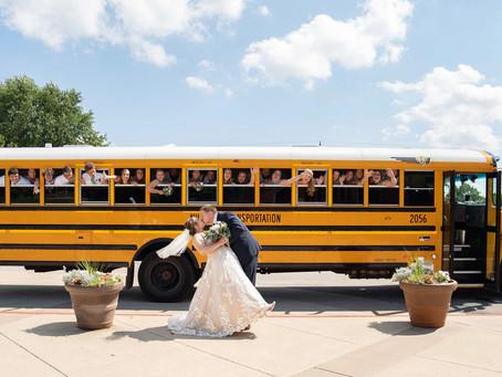 Cole & Emily's Wedding Day - St Barnabus Catholic Church, Indianapolis, IN