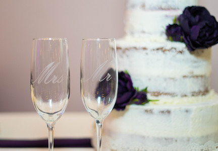 champagne flutes - Emma Males Photography