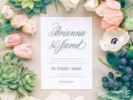 Wedding Invitation Card Design 101: 4 Tips to Get Started