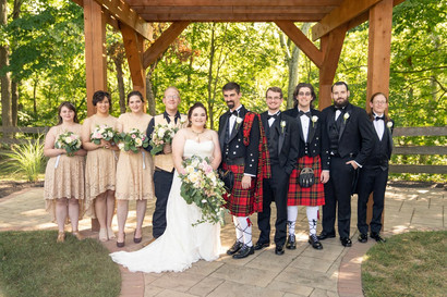 Indianapolis Wedding Photographer - bridal party
