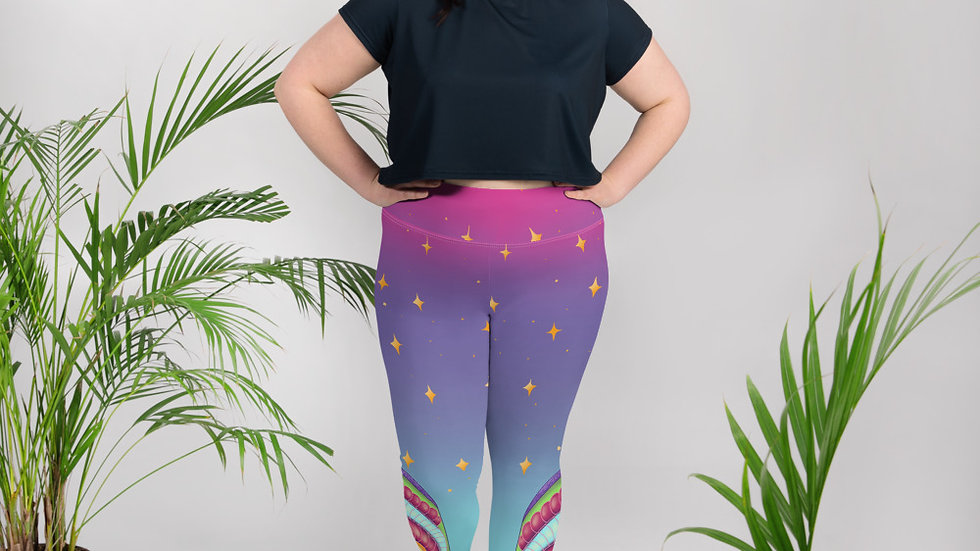 Plus Sizes Sparkle Magic Leggings