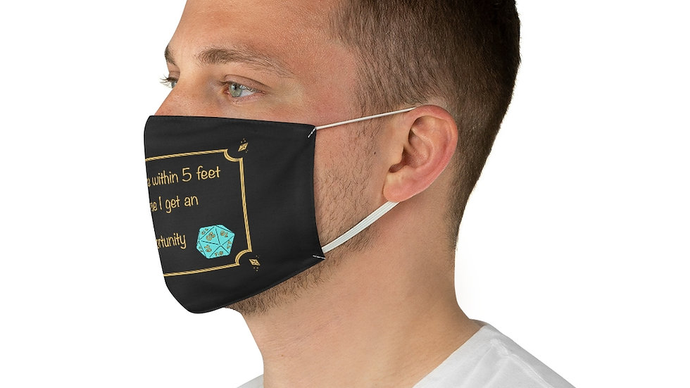 Attack of Opportunity Fabric Face Mask