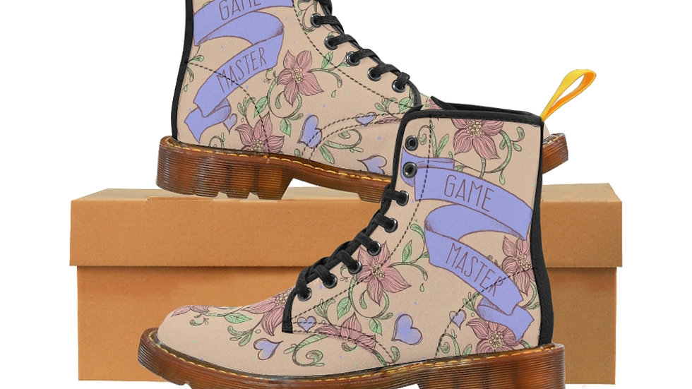 Game Master Floral Boots