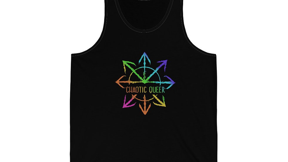 Chaotic Queer Unisex Jersey Tank