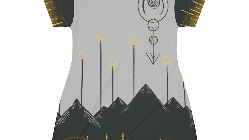 Stone Primal Sigil T-Shirt Dress