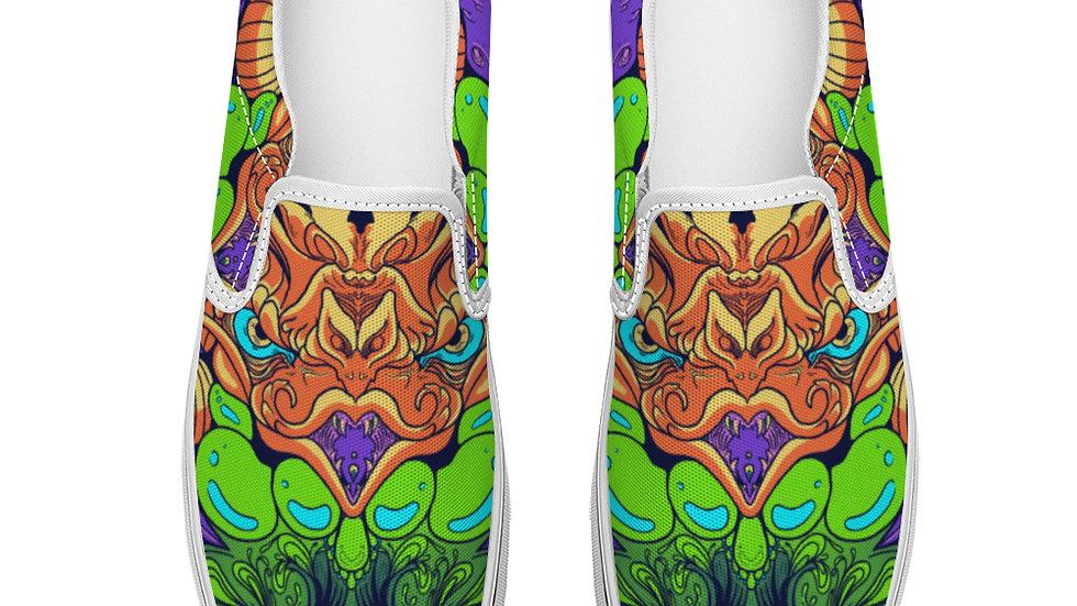 Villian  Slip On Canvas Shoes Unisex