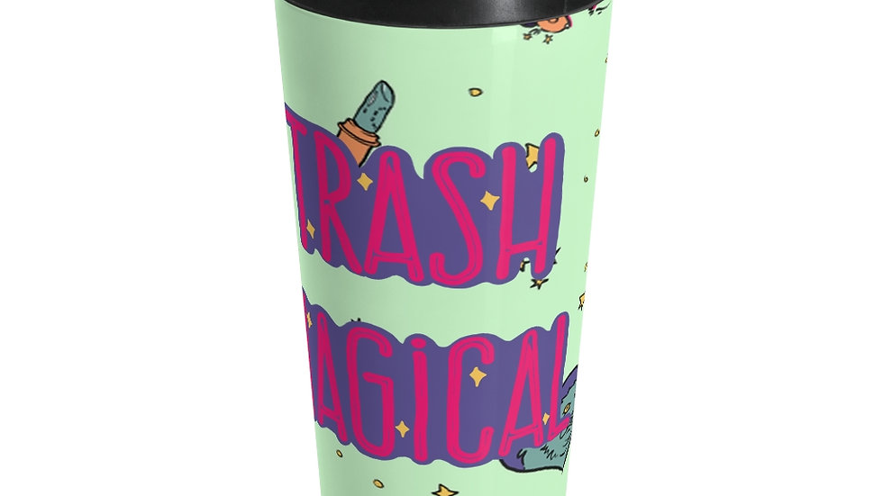 Trash Magical Stainless Steel Travel Mug