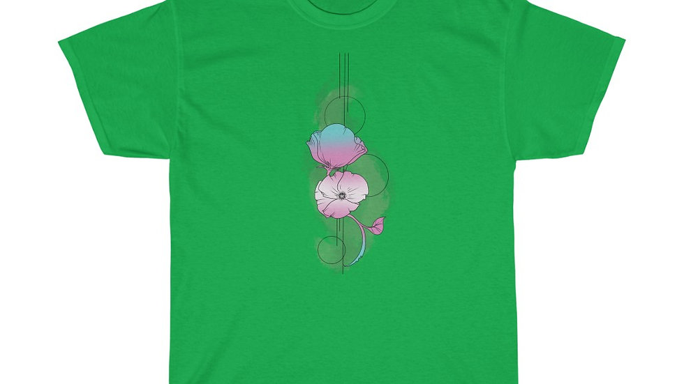 Poppies Trans Colors Heavy Cotton Tee
