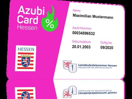 AZUBI-Card Hessen: Für Berufsstarter in die Lehre