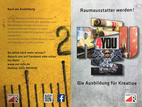 "Neue ""Raum4You"" Berufsinformationsbroschüre"