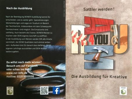 """Neue """"Raum4You"""" Berufsinformationsbroschüre """"Sattler"""""""