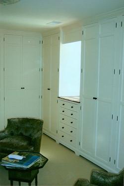 Classic shaker style closet