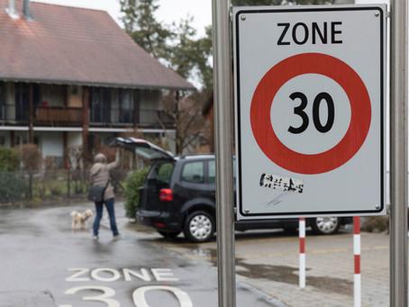 Stadt will Verkehrssicherheit auf dem Strättlighügel verbessern