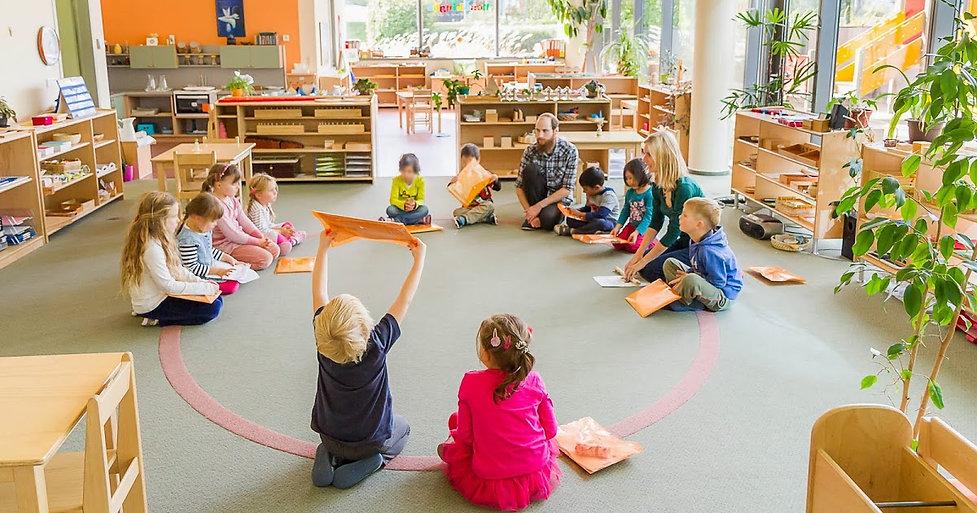 NestLingue indoors-Primary I. classroom