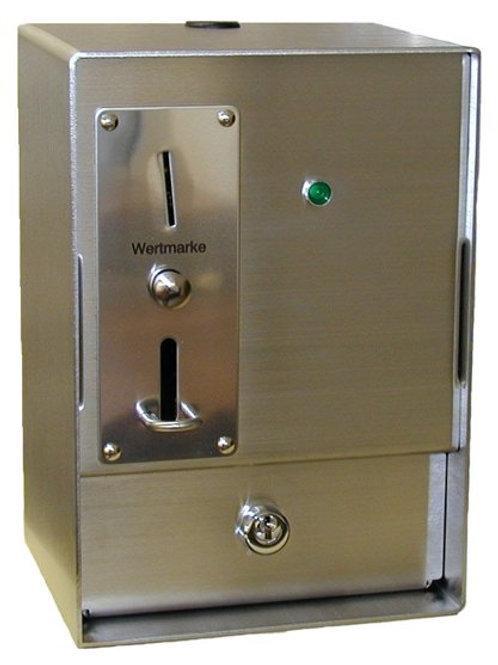RVS muntautomaat basis met controlelamp 5000B
