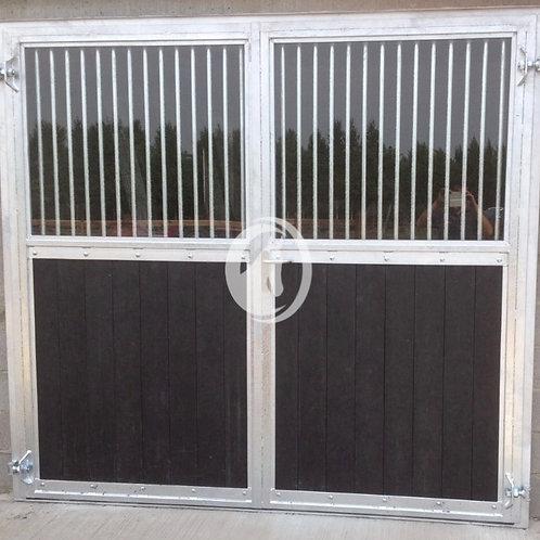 Opendraaiende poort Standaard