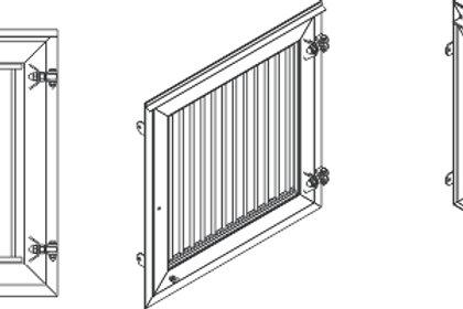 Standaard raam