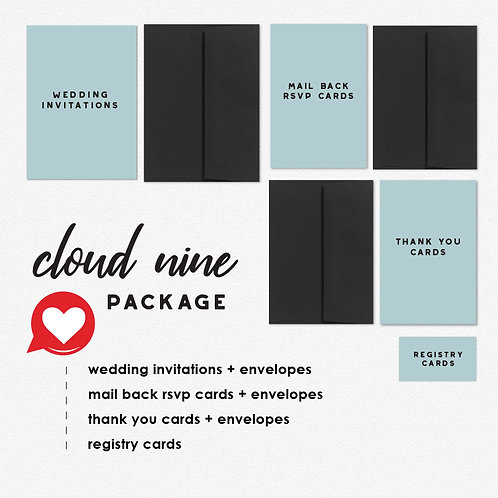 Eternity Stamp Cloud Nine Package