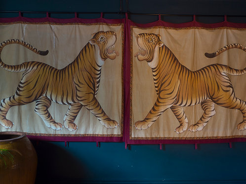 Huge Indian Tiger wall hangings