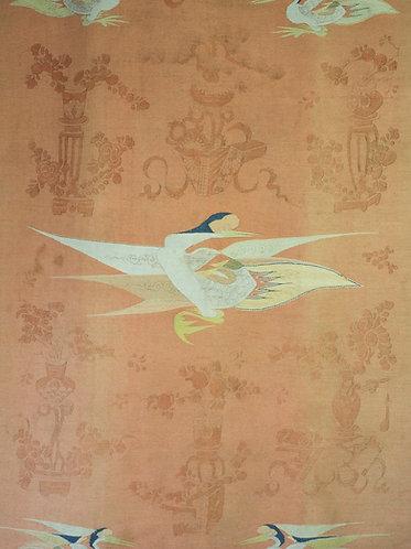 Antique Mongolian Gansu tapestry