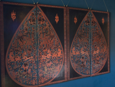 The art of Burmese Lacquered Engraving