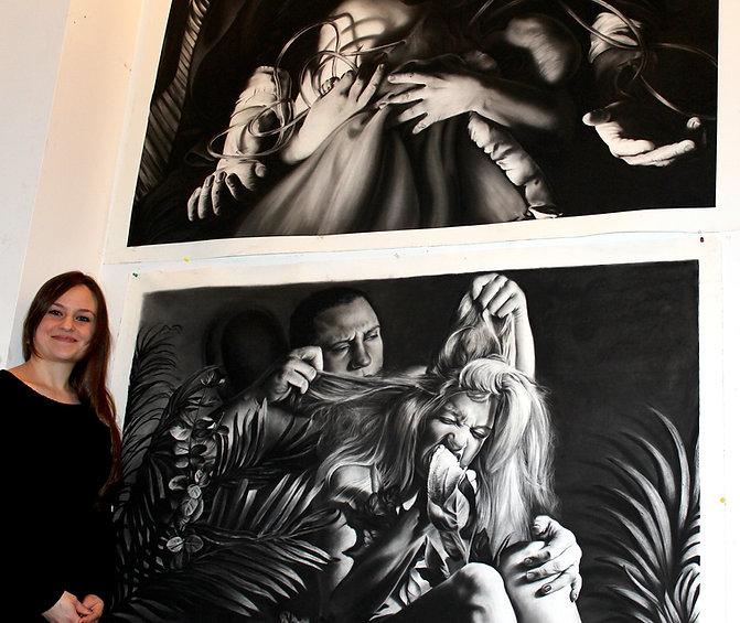 liza labarge drawing contemporary art