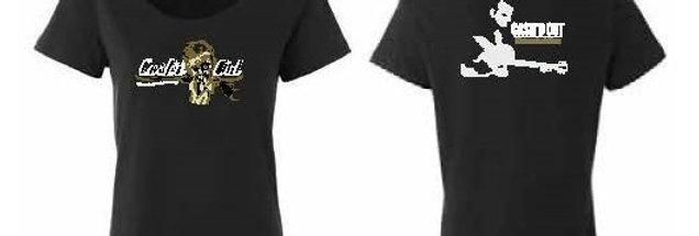 Cash'd Out Woman's Scoop Neck T-shirt