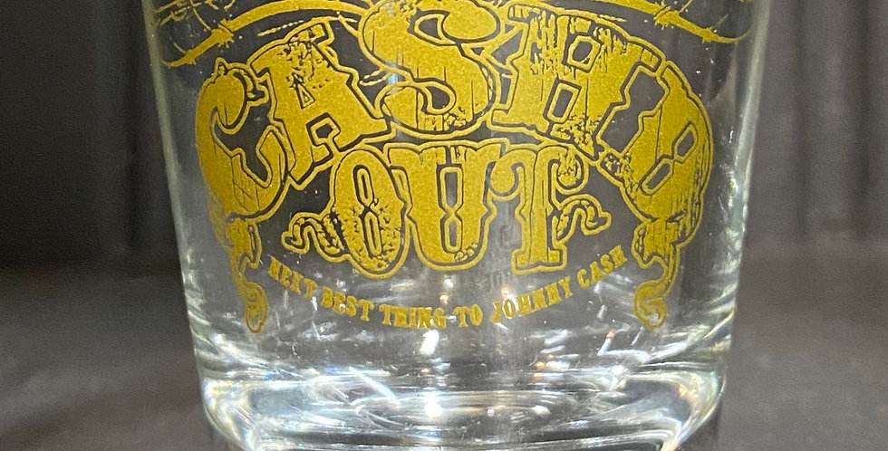 Cash'd Out Shot Glass
