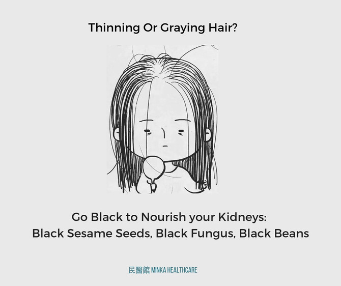 Thinning or Graying Hair?