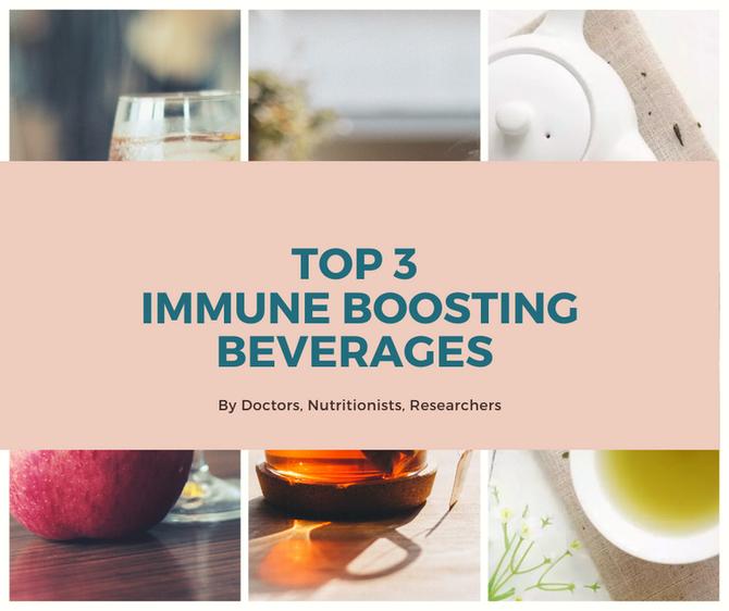 Top 3 Immune Boosting Beverages