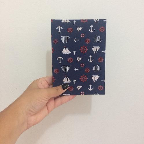 Caderno de Anotações de Viagens: Navy