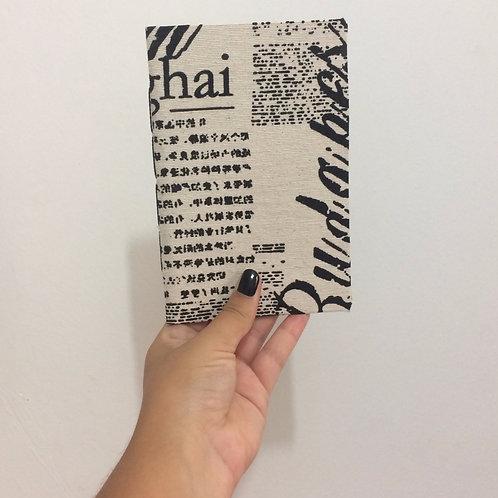 Caderno de Anotação de Viagem Artesanal - Travel Journal