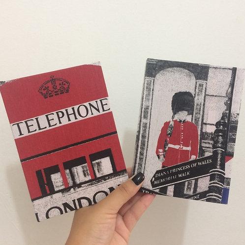 Caderno de Anotações de Viagens: Londres