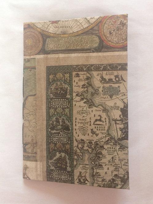 Caderno de Anotação de Viagem: Maps