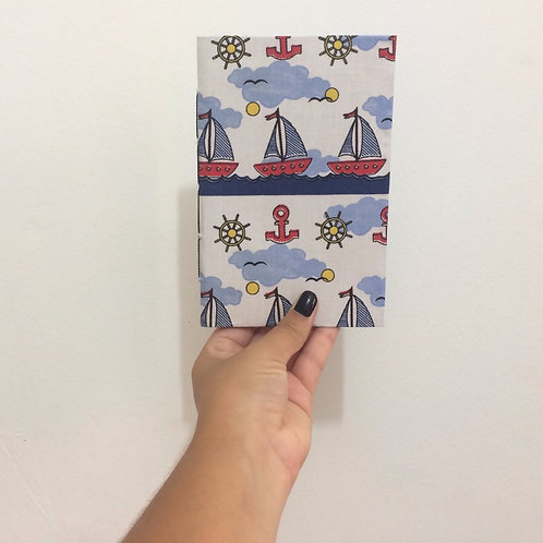 Caderno de Anotação de Viagem Artesanal: Náutico
