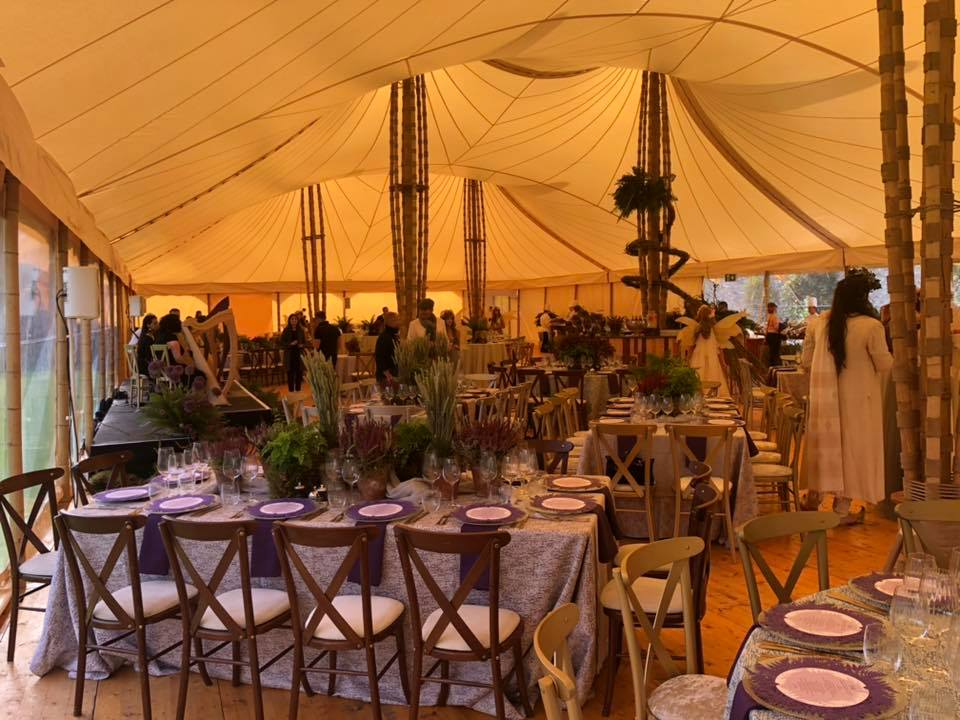 Eventus bamboo marquee hire