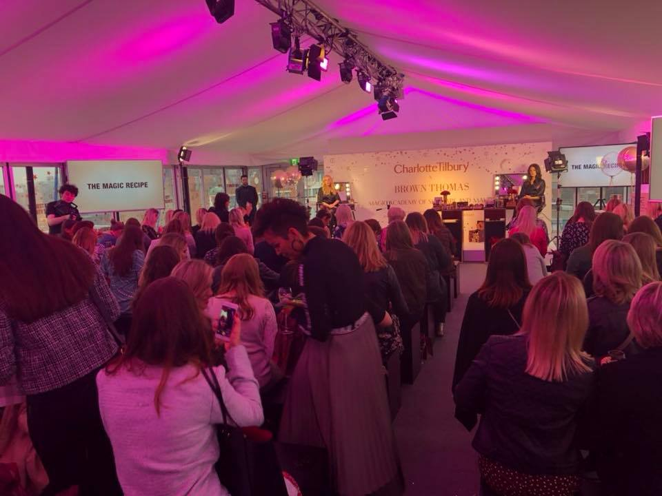 Eventus marquee hire for Brown Thomas