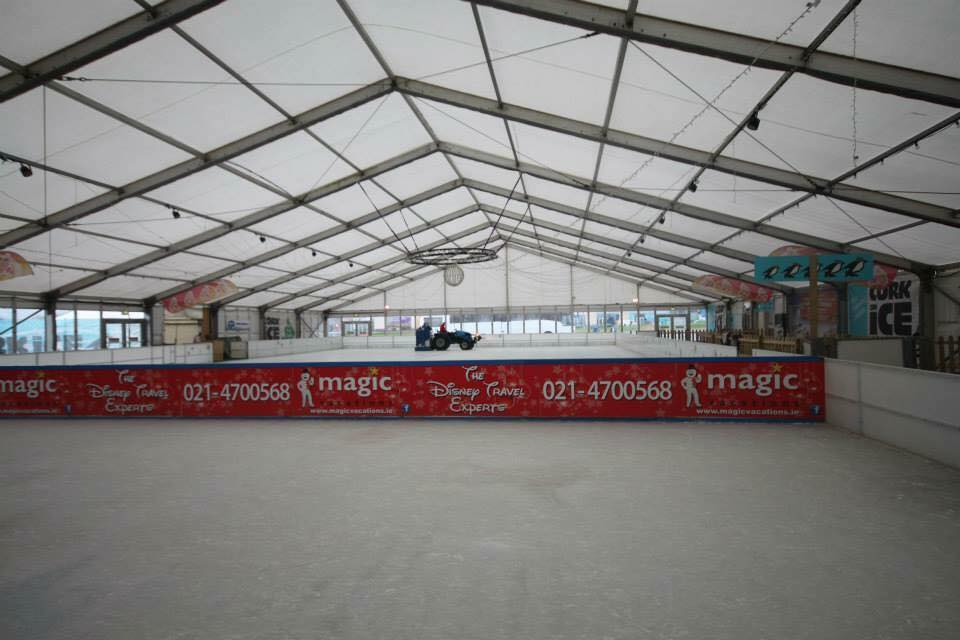 Eventus marquee hire Ice Rink