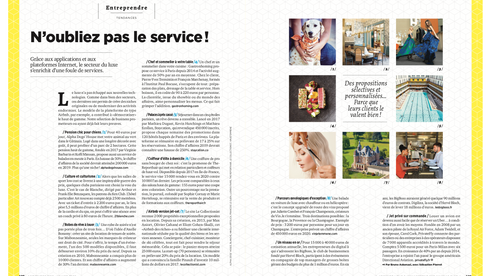 Gastronhoming dans le n° 280 du magazine Management, dédié aux services à domiciles haut de gamme!