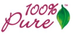 100 percent pure button
