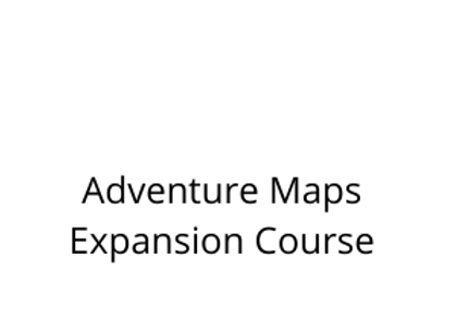 Adventure Maps Expansion Course