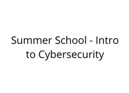Summer School - Intro to Cybersecurity