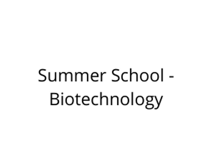 Summer School - Biotechnology