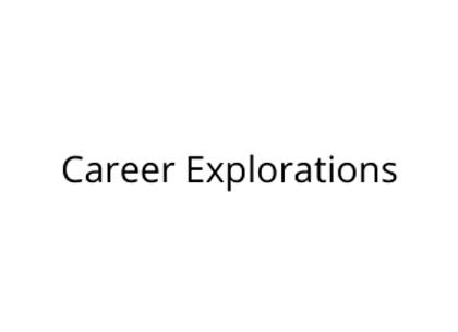 Career Explorations